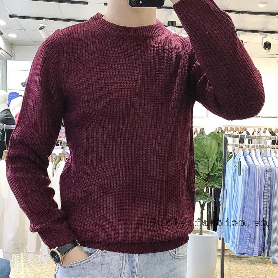 áo len nam sukiya