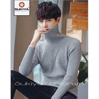 áo len nam cổ lọ chất đẹp sukiya 3