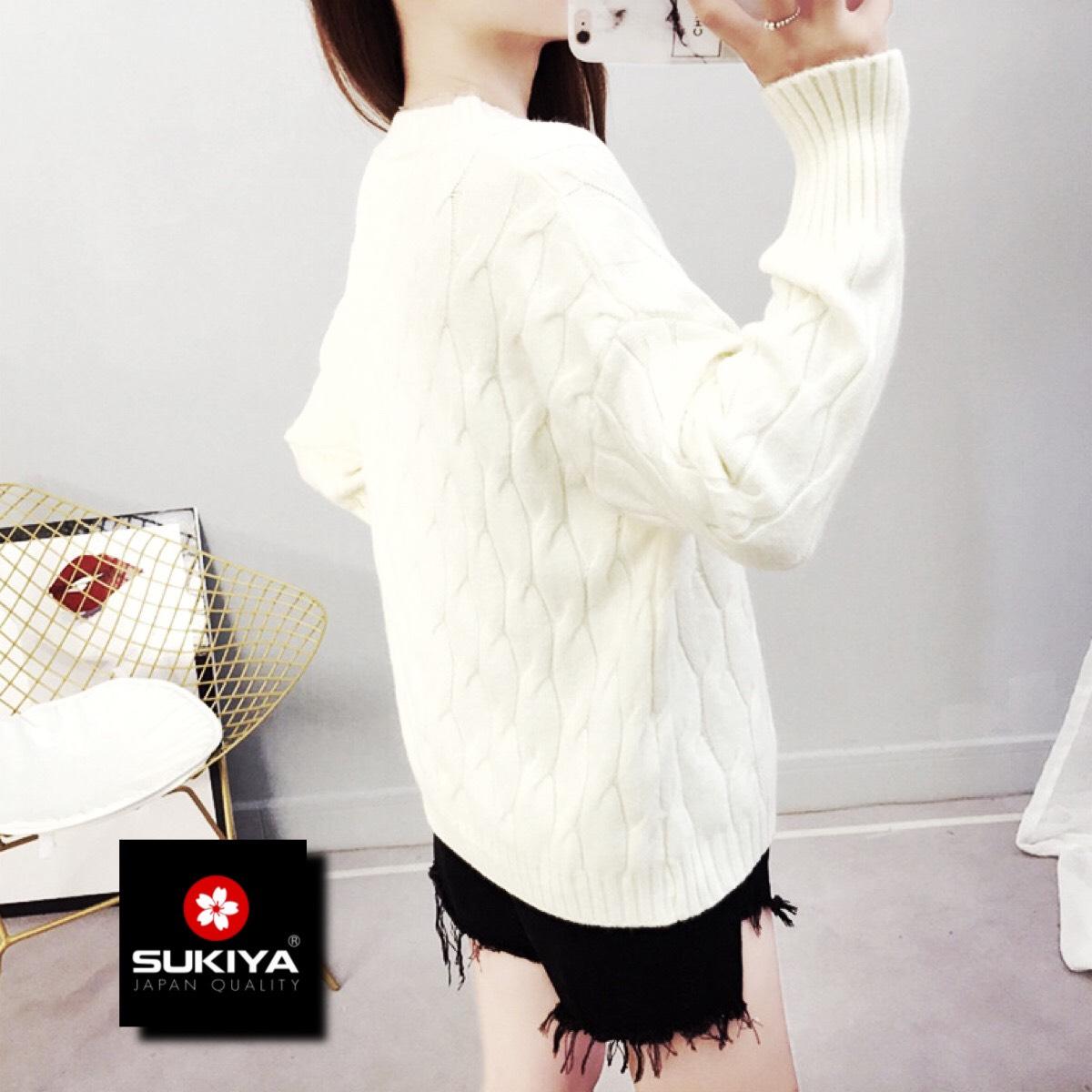 áo len nữ chất len lông cừu