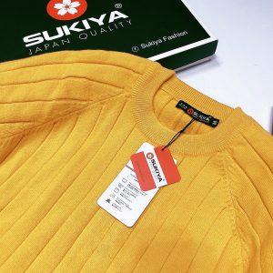 áo len nam cổ tròn sukiya fashion