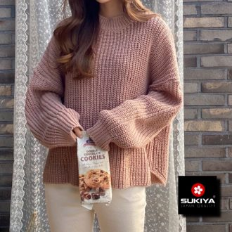 Áo len nữ dáng rộng sukiya