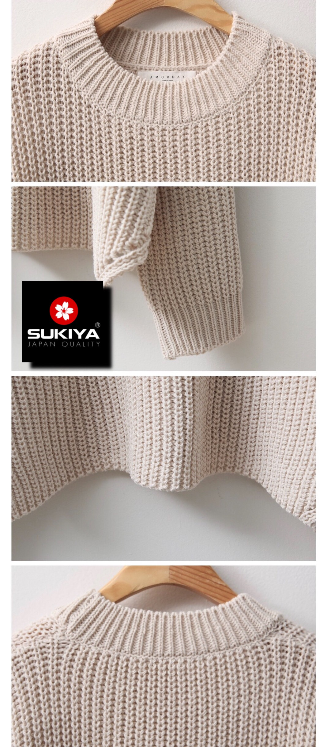 áo len nữ dáng rộng hàn quốc